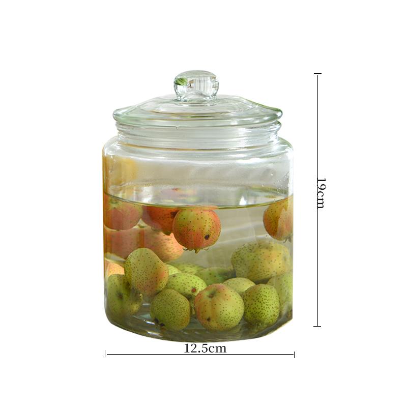 Wholesale Glass storage jar